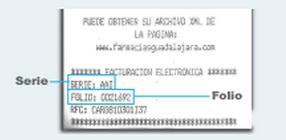 Como sacar facturas electrónicas de Farmacias Guadalajara